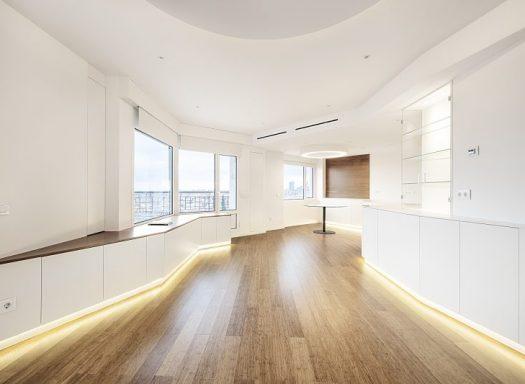 Reforma de vivienda en la Torre de Madrid. Rez estudio arquitectos