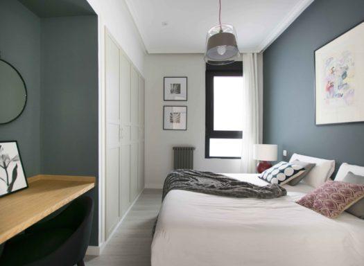 Dormitorio intermedio -Vivienda ASanta Ana recta