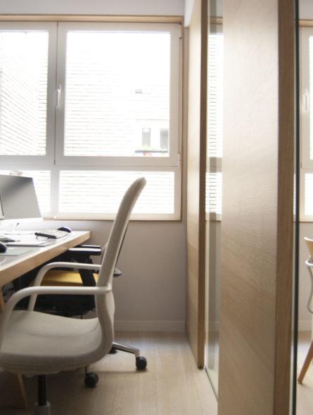 REZ estudio-Arquitectura-Reforma de oficina en Madrid- Rez estudio office