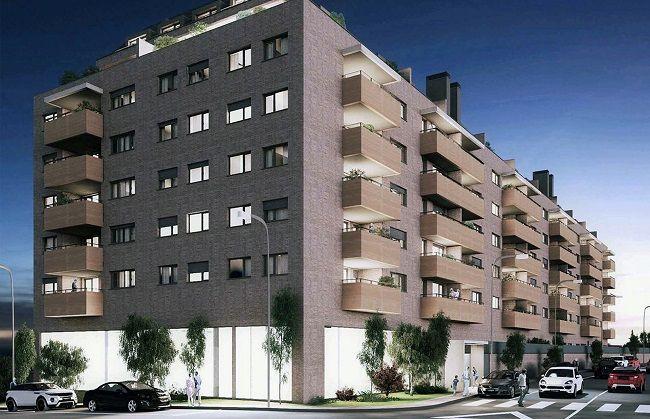 3D realizado por Rez estudio del edificio de viviendas en Alcalá