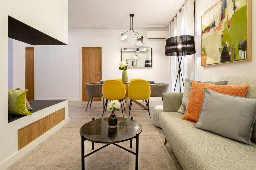 Diseño de un apartamento turístico en Madrid: Vivienda MC