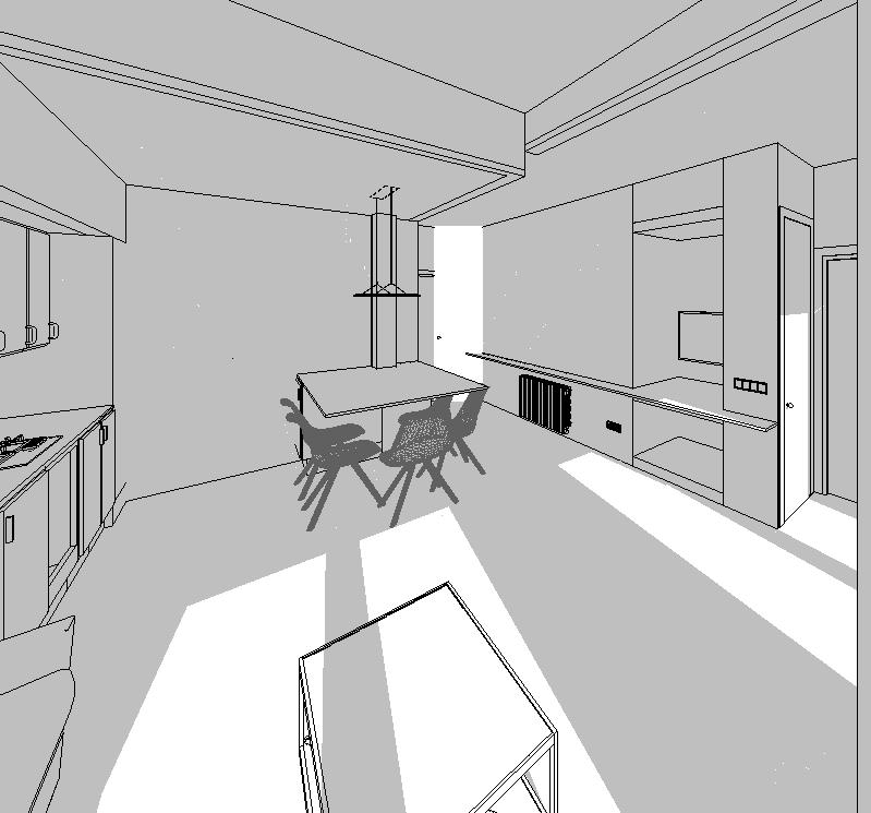 El diseño de iluminación resulta fundamental en un proyecto de diseño de interiores y, por ello, en los proyectos de Rez Estudio lo abordados de inicio.